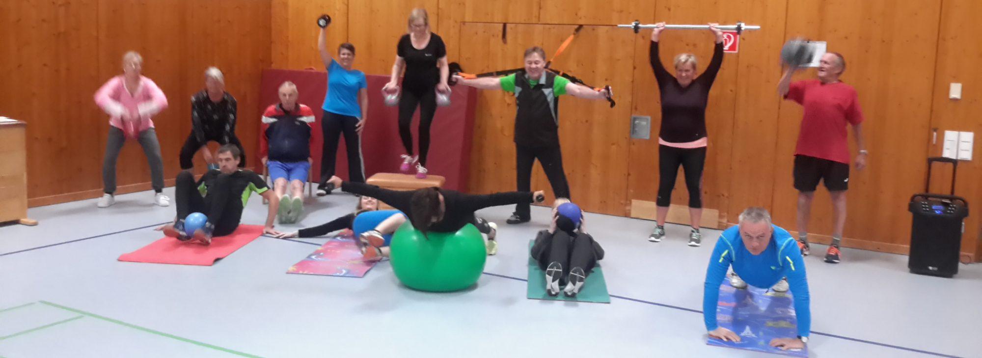 Entspannung, Fitness, Prävention und viel Spaß